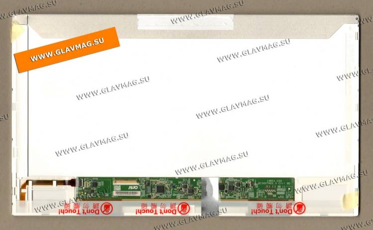 Матрица B156XW02 V.6 15.6 WXGA LED Video connector left side